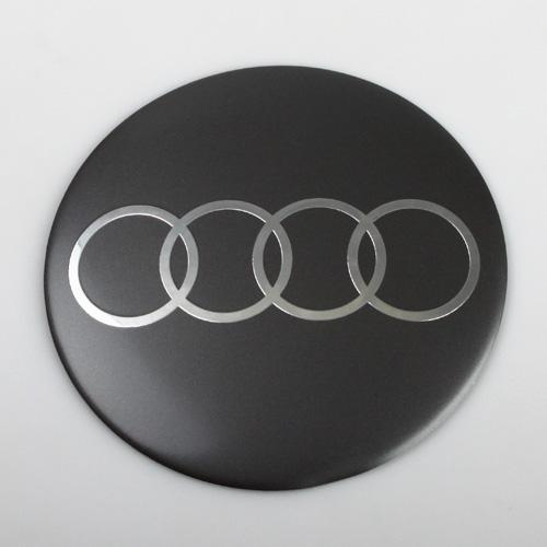 Logo (emblem) průměr 105mm Audi, šedé